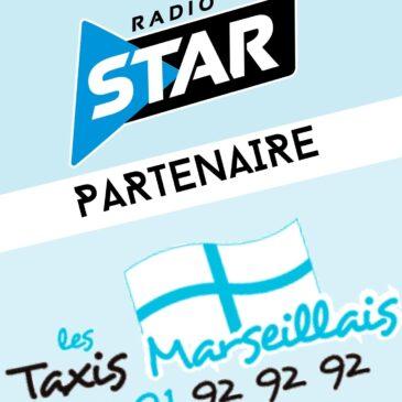 Les Taxis Marseillais partenaire avec Radio Star